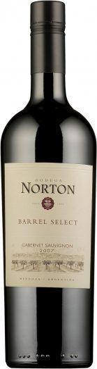 Entrecote ja Norton Barrel Select Cabernet Sauvignon 2014