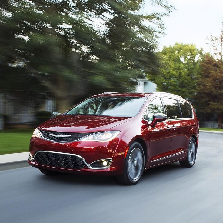 THIS Is The All-New 2017 Chrysler #Pacifica. #NAIAS