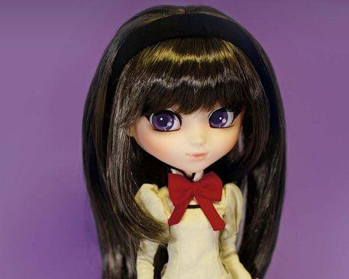 Коллекционная кукла Pullip Хомура Акэми с шарфом-Кюбэ