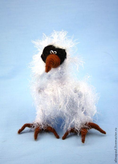 Купить игрушка Полярная Сова (филин, белая,букля,гарри поттер) - белый, Гарри Поттер