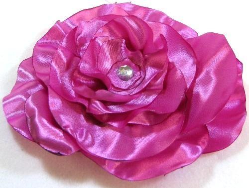 DIY Satin Ribbon Flower Tutorial DIY Ribbon Flowers