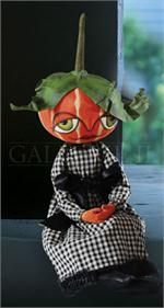 Gretzy Pumpkin Girl Gathered Traditions