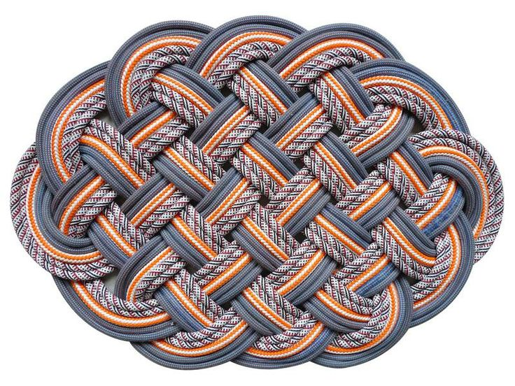 SerpentSea | Drake Sail Rope Mat | AHAlife~all mats made out of reclaimed repurposed nautical and mountaineering rope...