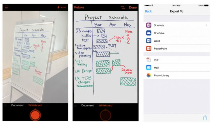 Microsoft Debuts Office Lens, A Document-Scanning App For iOS And Android | TechCrunch