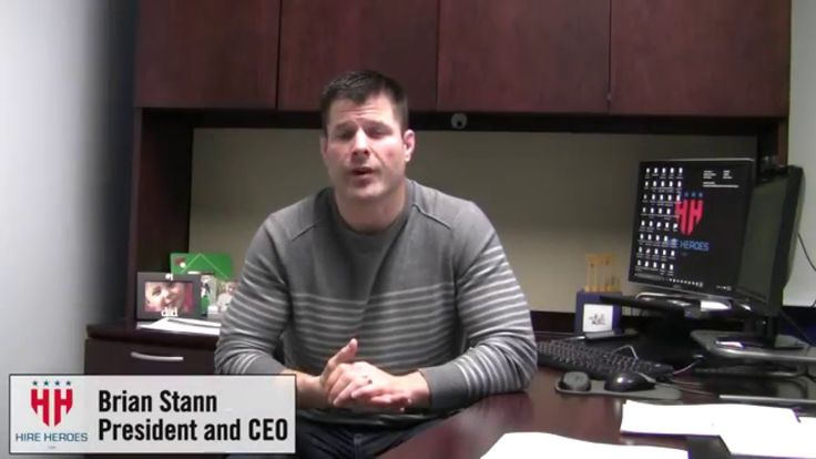 Donor Thank You Message from Hire Heroes USA CEO Brian Stann