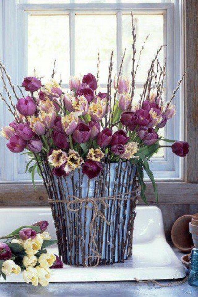 Flower bucket   GARDENING   Pinterest