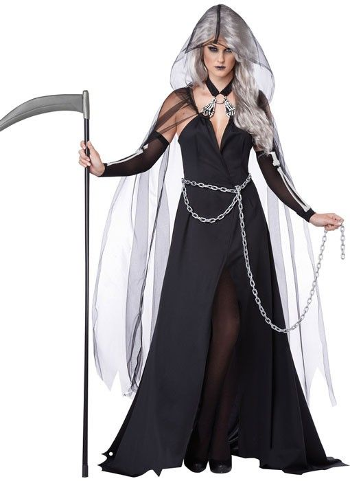 become the angel of death in this womens grim reaper - Chrispy Halloween