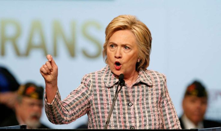 """Memorable quotes of 2016:     Hillary Clinton:    During her speech at the Democratic National Convention: """"A man you can bait with a tweet is not a man we can trust with nuclear weapons."""""""