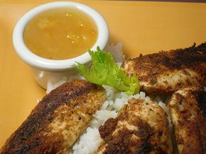 Comfy Cuisine: Blackened Chicken Tenders with Orange Marmalade Dipping Sauce