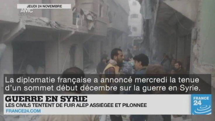 Guerre en #Syrie, accord de paix en #Colombie, transition à la Maison-Blanche, scandale en Corée du Sud, polémique en #France.... Le point sur l'actualité en VIDÉO