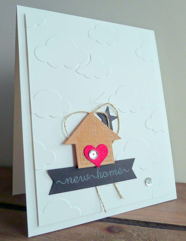 Card Making Ideas New Home Part - 17: BloGbloM: New Home