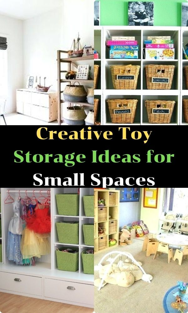 Creative Toy Storage Ideas For Small Spaces Creative Toy Storage