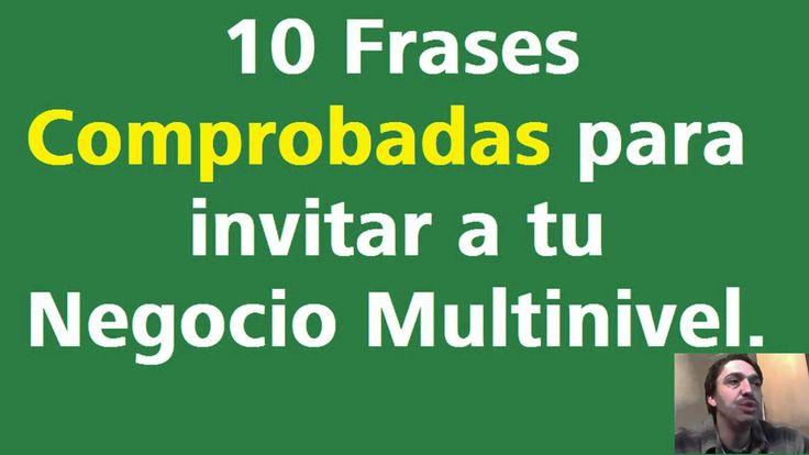 Como invitar personas a mi Negocio Multinivel - 10 Frases Comprobadas
