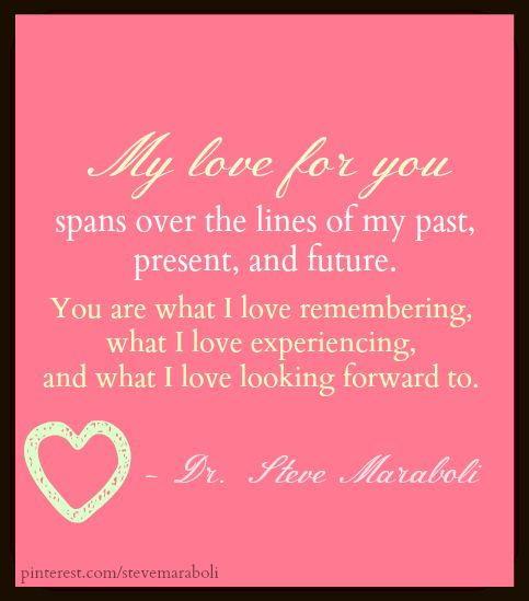 I Love Images With Quotes: My Love For You Spans Over The Lines Of My Past, Present