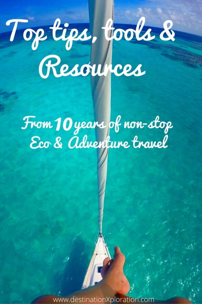 Tips, tools and resources on eco travel, adventure travel, zero waste travel, local travel from 10 years of solo globetrotting around the world