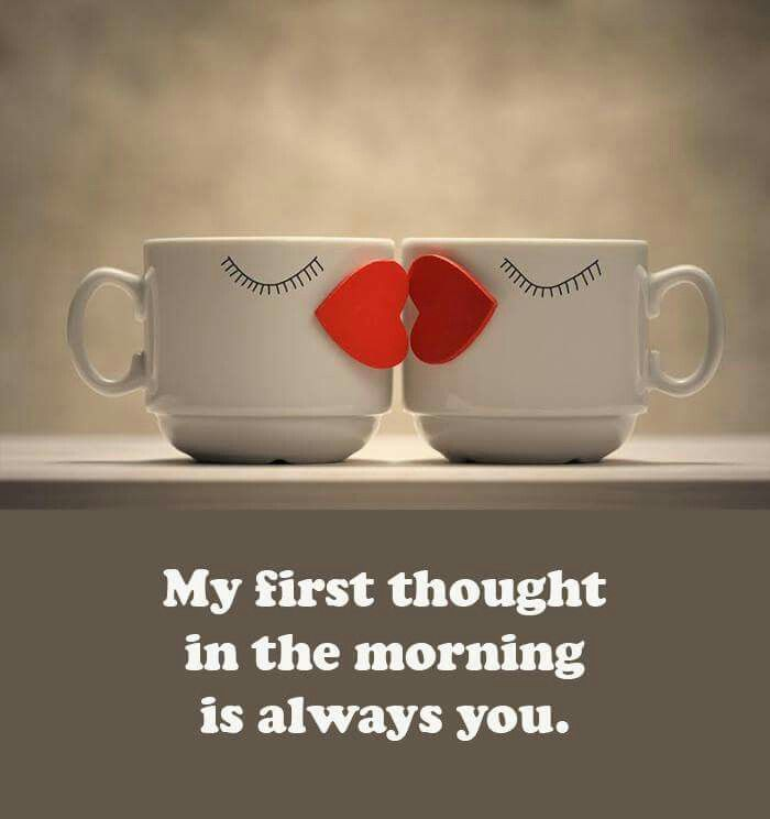 <3 Good morning my babe... Mmmm... My Good day will start with you!
