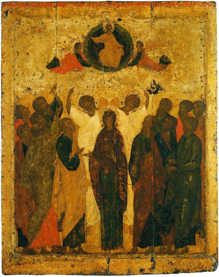 Праздничный чин Благовещенского собора. Прохор. Вознесение