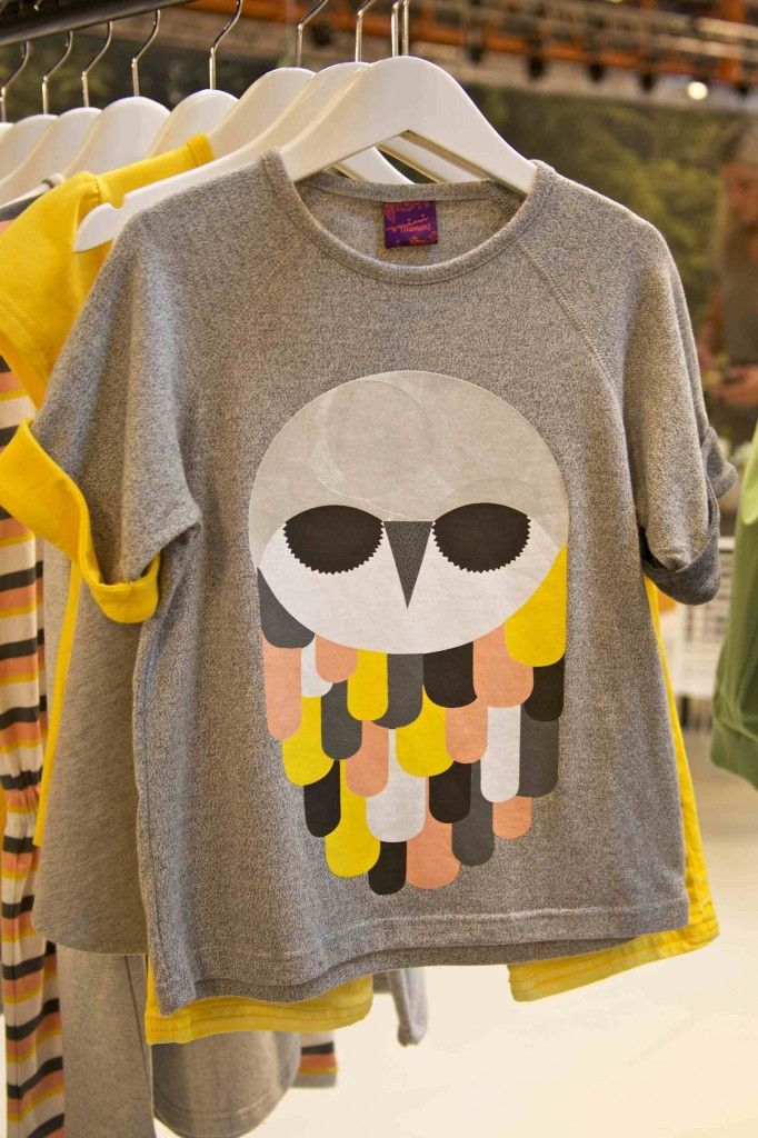 The owl lives on at Mini Numph for kids fashion summer 2013 x