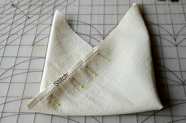 Here is the tutorial for my Origami Market Bag in case you missed it the first time over on WhipUp .     I decided to whip up a simpl…Sandra Nielsen