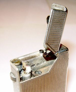 A Dunhill lighter that Winston Churchill might have used...