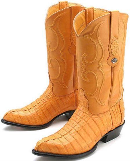 96b258a7ef5 High quality alligator skin manufactured western style cowboy boots ...