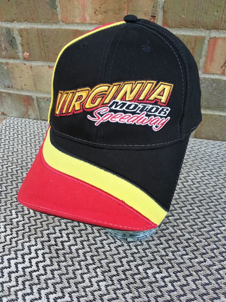 Virginia Motor Speedway Velcro Strapback Hat by The Game