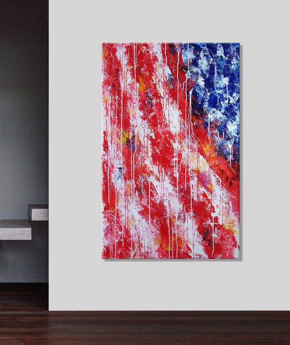 13 best Painting images on Pinterest American flag Painted