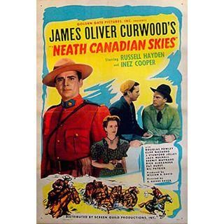 1946 Vintage Canadian Movie Poster Neath Canadian