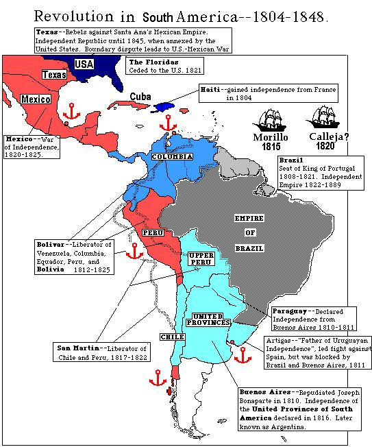 Latin america independence essay