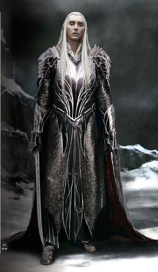 Thranduil raised Avalain for a while in Mirkwood. He treats her as his own daughter.