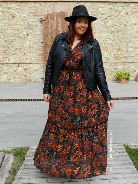 plus size fashion - VÍSTETE QUE VIENEN CURVAS: El vestido (Agotado) de H&M · Outfit