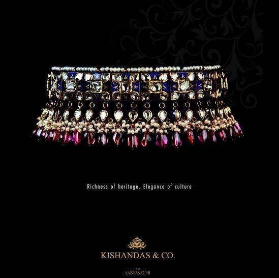 Sabyasachi for Kishandas & Co.