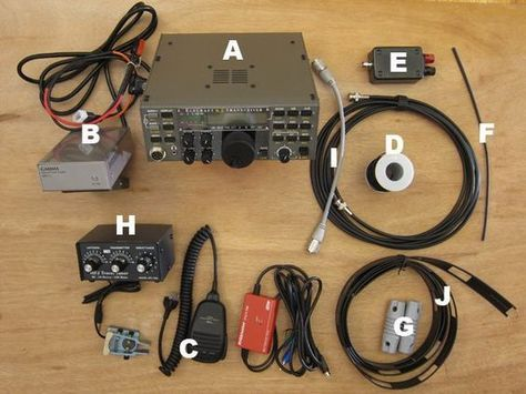 Setting Up a Ham Radio Shack