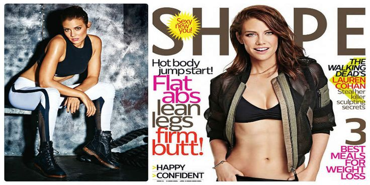 Лорен Коэн на страницах Shape Magazine (January-February 2016)
