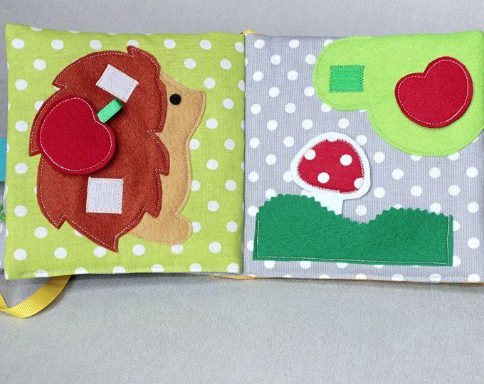 Libro despertar de despertar y actividades de la naturaleza, inspiración de Montessori, juguete, pañuelos de papel, tejido, laberinto, juego juego de regalo infantil