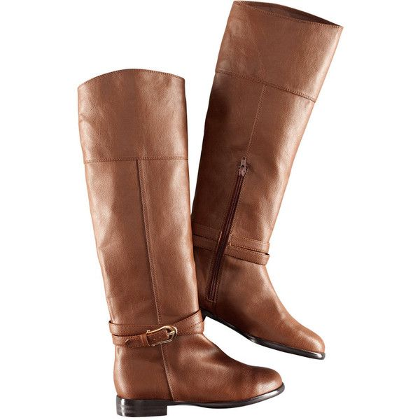 H Boots found on Polyvore (whyyyy do they have to be sold out i want them so bad!)Shoes, Brown Riding, Fashion, Style, Flats Boots, Riding Boots, Fall Boots, Brown Boots, H M Boots