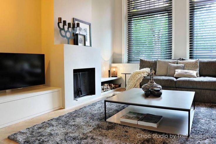 25 beste idee n over moderne woonkamers op pinterest - Eigentijdse woonkamers ...