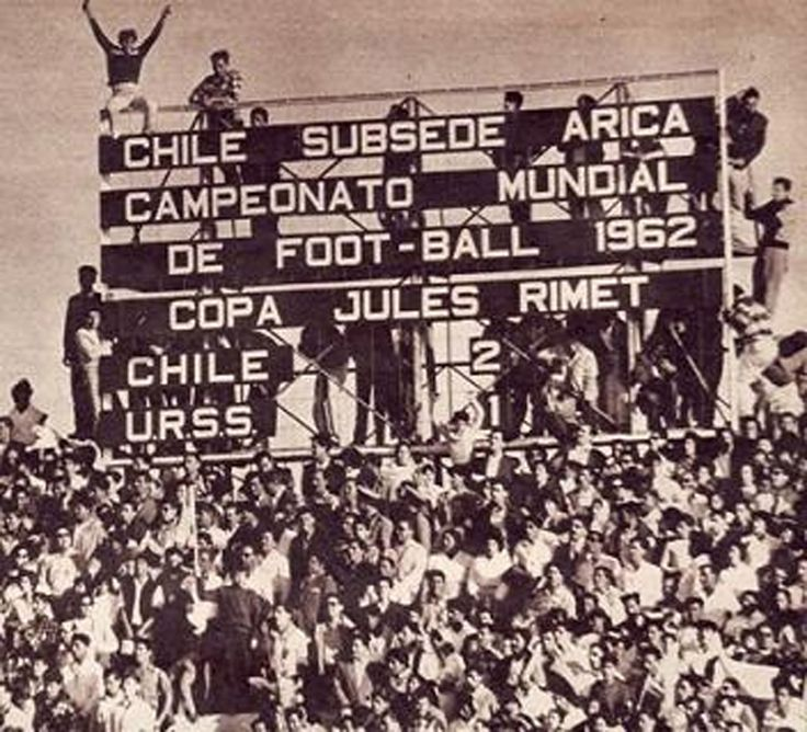 Chile vs URSS, Mundial de 1962