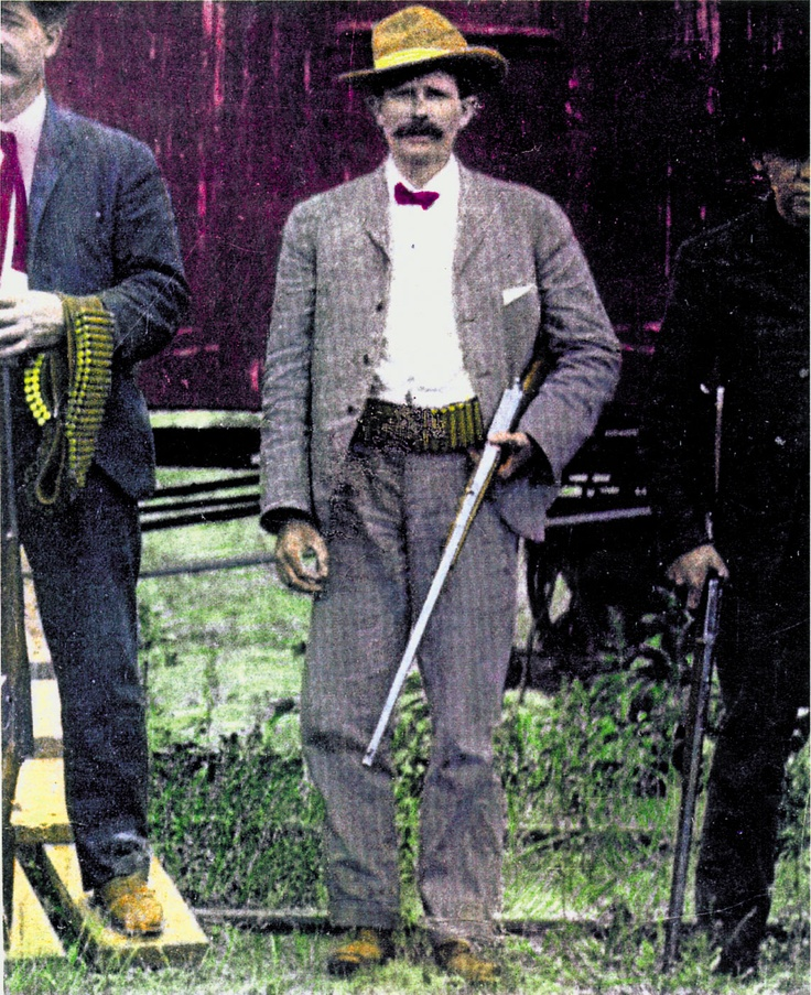 "JOE LEFORS — Joe LeFors made his name as a lawman after he duped a drunken Tom Horn into basically confessing to the murder of teenager Willie Nickell. Yet it was his pursuit of Kid Curry, the Sundance Kid and other gang members after a 1900 train robbery in Tipton, Wyoming, that would make Lefors the inspiration for the leader of the so-called ""super posse"" that tracked the Wild Bunch so tenaciously in 1969's Butch Cassidy and the Sundance Kid.  – Courtesy Chip Carlson –"
