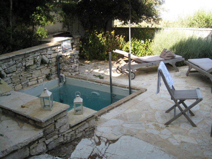 Plunge pool Rou Estate Corfu | Dreamin | Pinterest | Plunge pool, Small  pools and Outdoor spaces