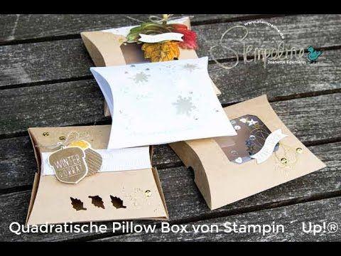 Thinlits Quadratische Pillowbox von Stampin´ Up! (HD)