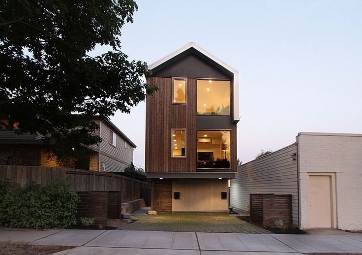 Lever Homes Contemporary and Practical Urban Duplex Unit in Seattle