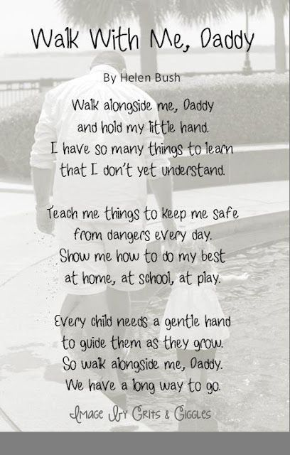 Father's Day Poem: Add your own photo background tutorial!