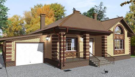 дом терраса гараж