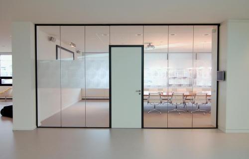 HPL deur   Plan Effect systeemwanden, kantoorwanden en glaswanden