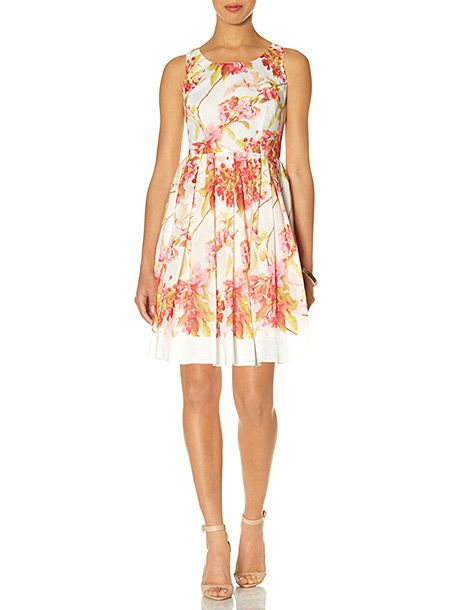 Zooey Deschanel's Pink Floral Dress From the New Girl Season Premiere
