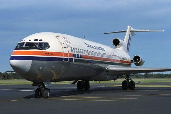 Trans Australia Airlines Boeing 727-276 (VH-TBK)