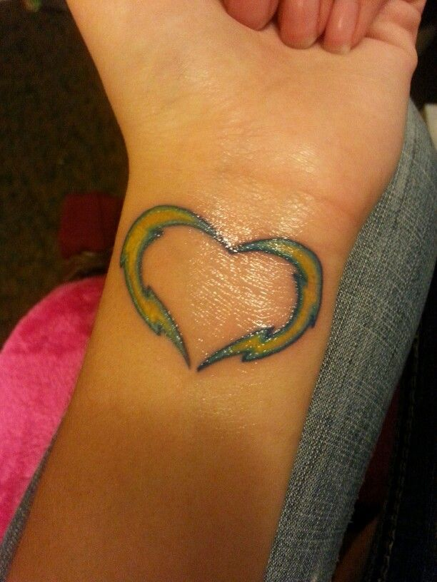 San Diego Charger tattoo :)