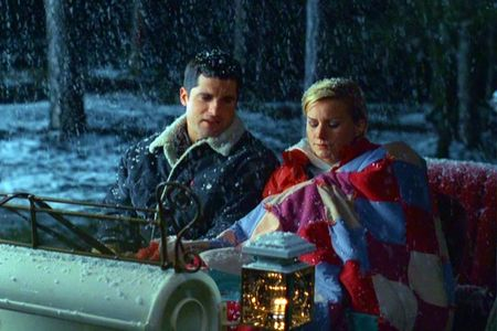 Faith and Cody in The Christmas Card.  I LOVE this movie.  You can see it on the Hallmark channel during the Christmas season.