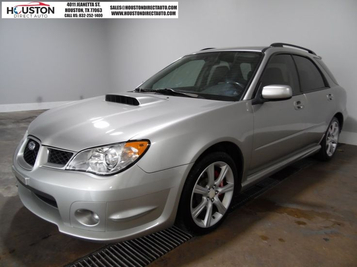 Cars for Sale: Used 2006 Subaru Impreza WRX Wagon for sale in Houston, TX 77063: Wagon Details - 457875432 - Autotrader